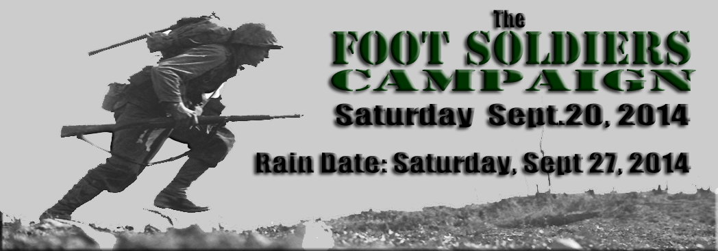 Foot Soldiers Campaign Rain Date